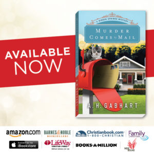 Available Now Murder Comes by Mail_May