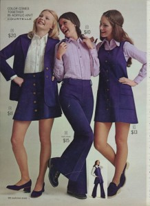 Sixties fashions
