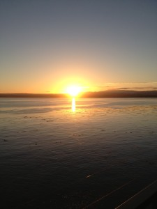 Sunset on Monterey Bay