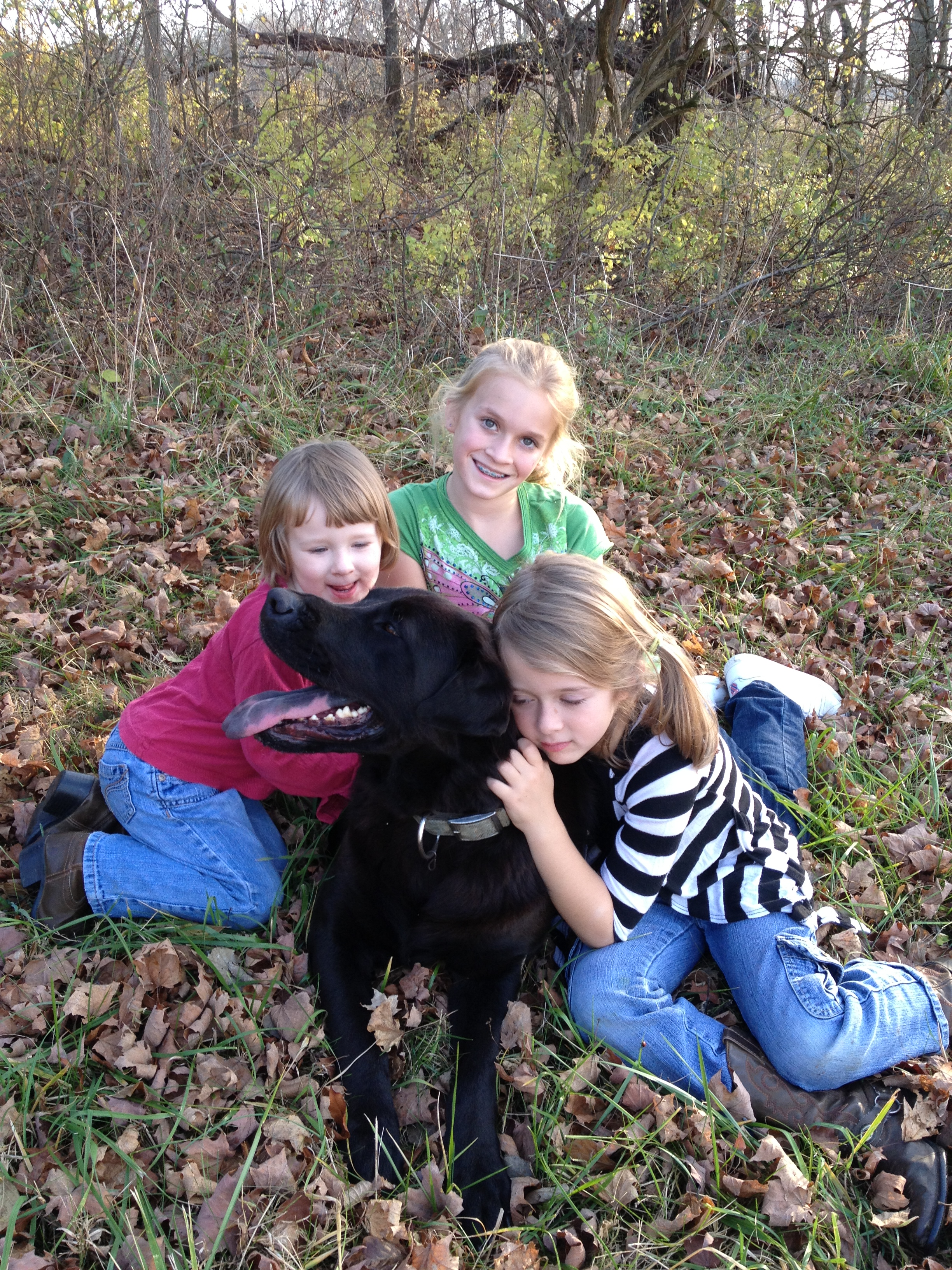 Granddaughters and Oscar