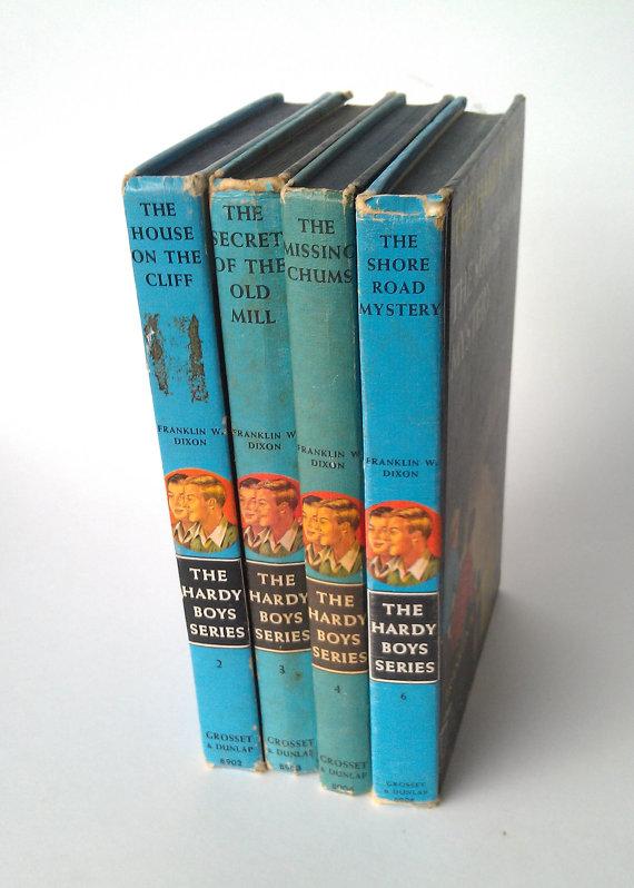 hardyboy mystery books