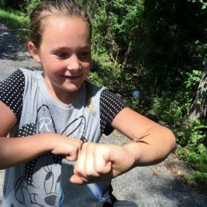 Granddaughter & butterfly24)