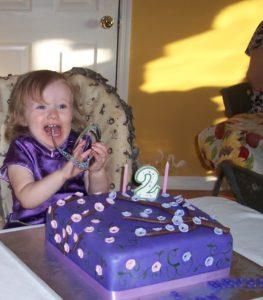 Birthday excitement